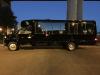 Black Party Bus Exterior