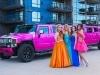 Pink Hummer Prom Limo Rental in Portland